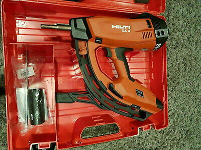 Brand New Hilti GX 3 Nail Gun. 2 Years Warranty. UK Next day delivery