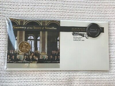 Treaty of Versailles Centenary PNC 2019 $1