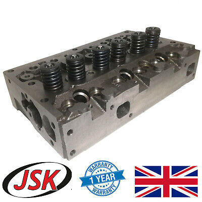 Complete Cylinder Head Assembly & Valves Leyland Marshall Tractor 245 253 502