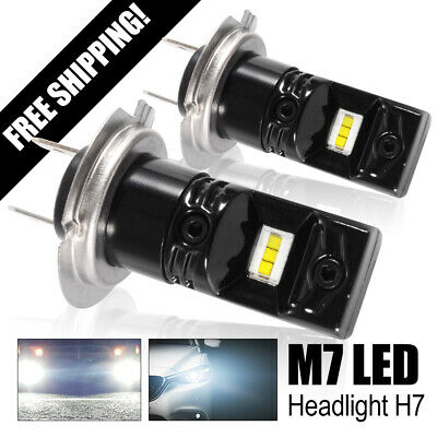 H7 Led Fog Light Bulb 1600LM 160W High Power CSP Chips 6500K Super Bright LD1868