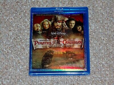 Disney Pirates of the Caribbean: At World's End Blu-ray 2007 2-Disc Brand New