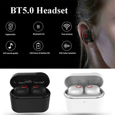 Mini Wireless Headphone BT5.0 Earbuds Music In-Ear Stereo Earphone Headset R6G3
