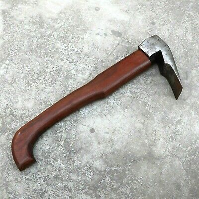 Antique Look Blacksmith Hand Forged/Wrought Iron Adze Wood Tool