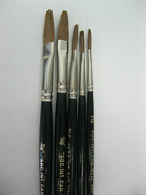 Signwriter Lettering Brush One Stroke ,7 sizes available or Set of 5pcs (Germany