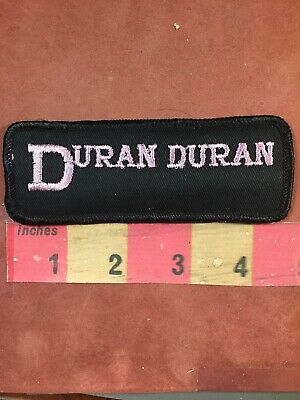 DURAN DURAN PATCH Ordinary World Come Undone synth 1980's band pop