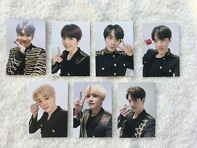 BTS Speak Yourself Japan Edition Coin Pouch Photocard Official merchandise