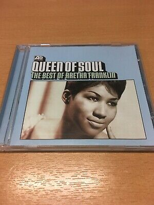 Aretha Franklin CD Queen Of Soul The Best Of Atlantic Very Good Free Post