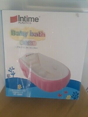 Intime Plastic Baby bath pink YT-226A