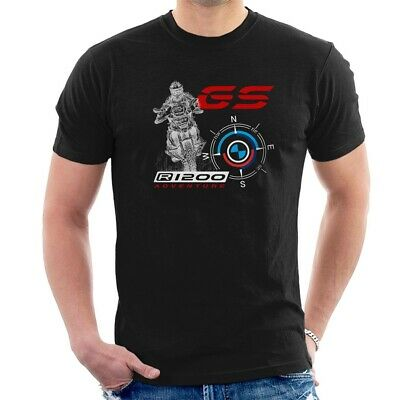 BMW R1200 GS T-SHIRT Motorcycles Compass All SIZES M33