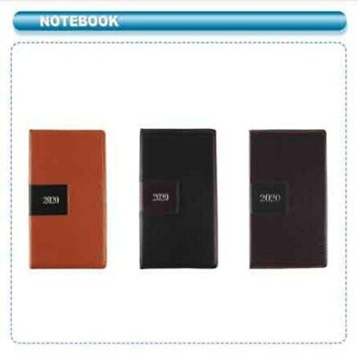 2020 Calendar Agenda Planner Daily Book Journal - Choice of Color