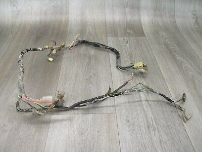 1982 82 Yamaha XT200 XT 200 Motorcycle Engine Cables Wiring Wires Wire Harness