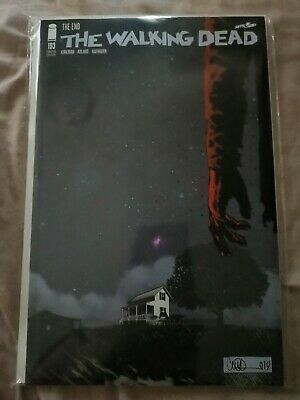 The Walking Dead #193 Sdcc 2019 Exclusive Nighttime Variant (Final Issue) - Rare