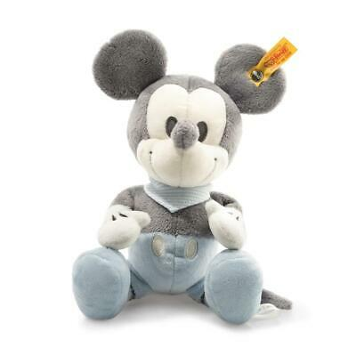 STEIFF Minnie Mouse EAN 290039 23cm grey blue white Plush baby gift New