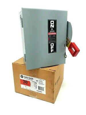 General Electric THN3361 30-Amp Safety Switch