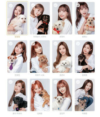 IZ*ONE IZONE GMARKET LIMITED EDITION GIFT CARD PACKAGE
