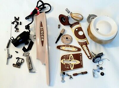 Singer 500a 503 Rocketeer Sewing Machine Large LOT of Parts All Usable