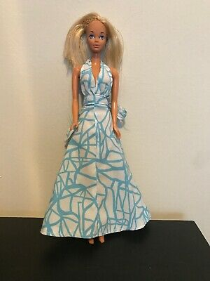 Vintage 1966  Barbie Doll With Bendable Knees  Made In  Korea