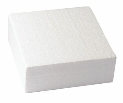 """Square Cake Dummy Set of 1 of each 5"""", 7"""" and 9"""" - 3"""" High - Free P&P"""