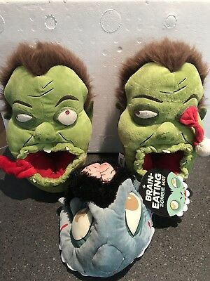 Zombie Slippers And Zombie Hat.