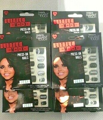 """Little Mix Press On Nails by Elegant Touch New Hot Look Bulk x 6 Boxes """"Jessy"""""""