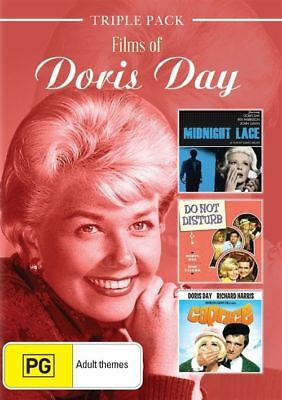 Doris Day (DVD, 2016, 3-Disc Set) - Region 4