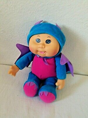 Cabbage Patch Kids Cuties Doll Fantasy Friends Sparky Dragon CPK Blue Purple