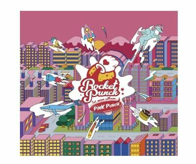 ROCKET PUNCH 1st Mini Album - PINK PUNCH   CD + Poster