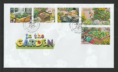 Australia 2019 : Stamp Collecting Month - In the Garden, First Day Cover
