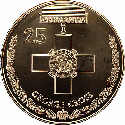 2017 Australian 25 Cent Coin Legends of ANZAC - GEORGE CROSS From MINT ROLL BUNC