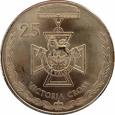 2017 Australian 25 Cent Coin Legends of ANZAC - VICTORIA CROSS - F/Roll BUNC
