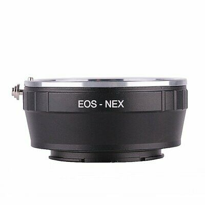 Canon EF EF-S Lens to Sony E-Mount A7R A7 A6000 NEX-3 5 6 7 Adapter Ring EOS-NEX