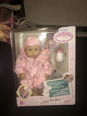Zapf Creation 794326 - My First Baby Annabell I Care for You Doll