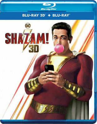 Shazam(3D)Blu-ray Only 2019***free shipping***