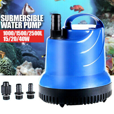 Submersible Water Pump for Fish Tank Aquarium Pond Fountain Spout Feature Pump