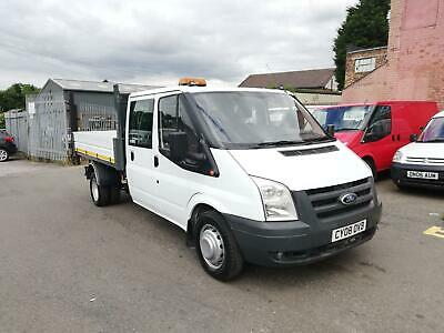 Ford Transit 2.4TDCi ( 100PS ) 350 LWB Crew Cab Double Cab Tipper