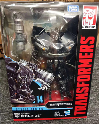 Transformers Studio Series IRONHIDE 2007 Movie Voyager Class #14 New Sealed