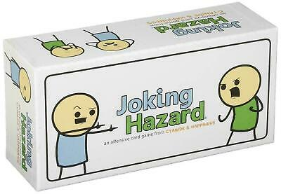 Joking Hazard Card Game Board Adults Funny Party Friends