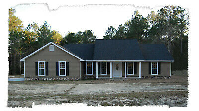 Ranch House Plans 1673 SF 3 Bed 2 Bath Split BR - Open Floor (Blueprints) #1209