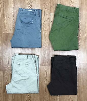 80 x UNBRANDED SLACKS TROUSERS CHINO PANTS WHOLESALE | GRADE B VINTAGE | JOB LOT