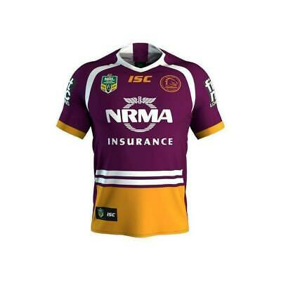 Brisbane Broncos 2018 Home Jersey with 30 years logo BNWT Men Youth sizes