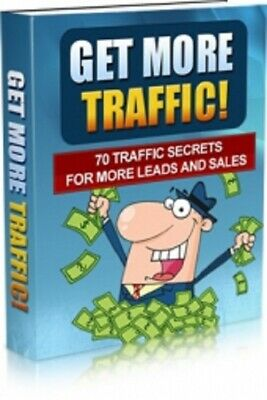 Get More Traffic! PDF eBook with Master Resell Rights MRR