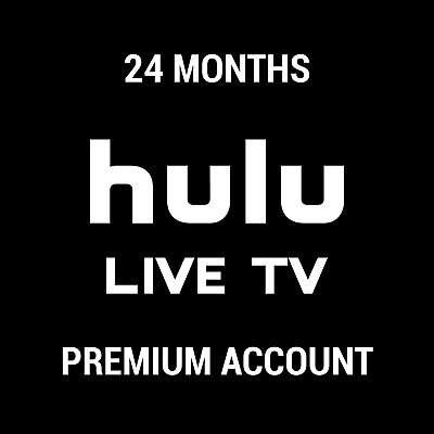 Hulu(No Adds) Premium Subscription + Live Tv 🔥 24 Months 🔥  Fast Delivery ✅