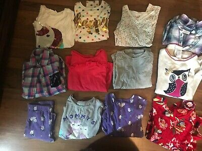 Huge Lot 33 Piece Girls Back To School Clothing Gap Gymboree A+ Wardrobe