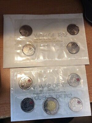 The War Of 1812 Uncirculated Set From The Canadian Mint