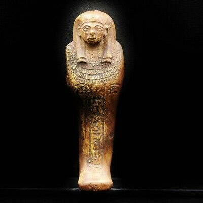 Amazing Antique Egyptian Stone Ushabti (Shabti) Statue Figure