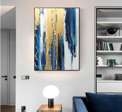 VV724 Modern Hand drawn abstract oil painting on canvas Home Decoration 48''