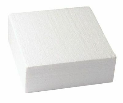 """Square Cake Dummy Set of 1 of each 7"""", 9"""" and 11"""" - 3"""" High - Free P&P"""