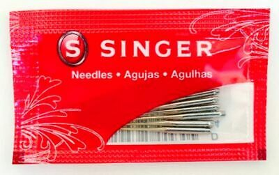 10 Pack Singer 2020 Size 16 Universal Home Sewing Machine Needles