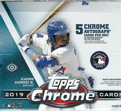2019 Topps Chrome Baseball, Complete Your Set, You Pick, Mint, Free Shipping
