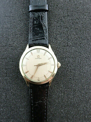 Vintage Mens Omega Wristwatch Caliber 371 P-6247 Running And Keeping Time
